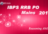 IBPS RRB PO Mains Reasoning Ability Questions 2019 (Day-11)