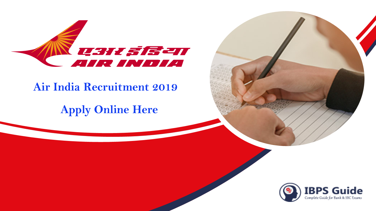 Air India Recruitment 2019: 170 Jobs | Air India Careers