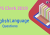 IBPS Clerk Mains English Language Questions 2019 - (Day-4)