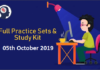 Gear Up Competitive Exam Preparation – 05th October 2019 | Daily Posts