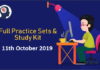 Gear Up Competitive Exam Preparation – 11th October 2019 | Daily Posts
