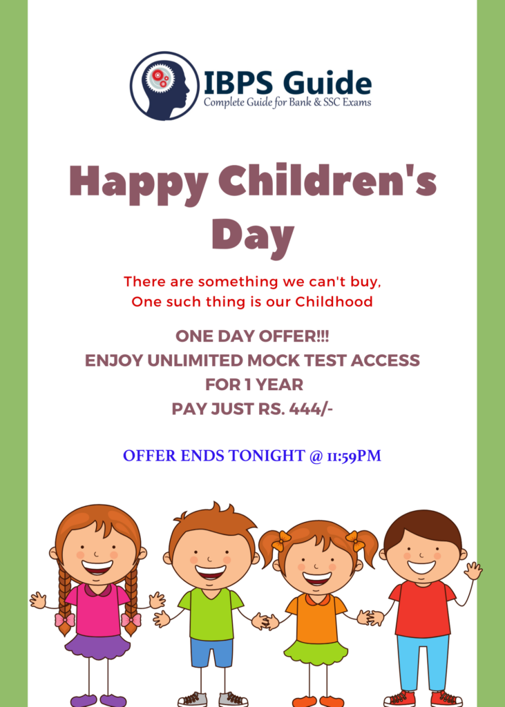 happy children's day offer
