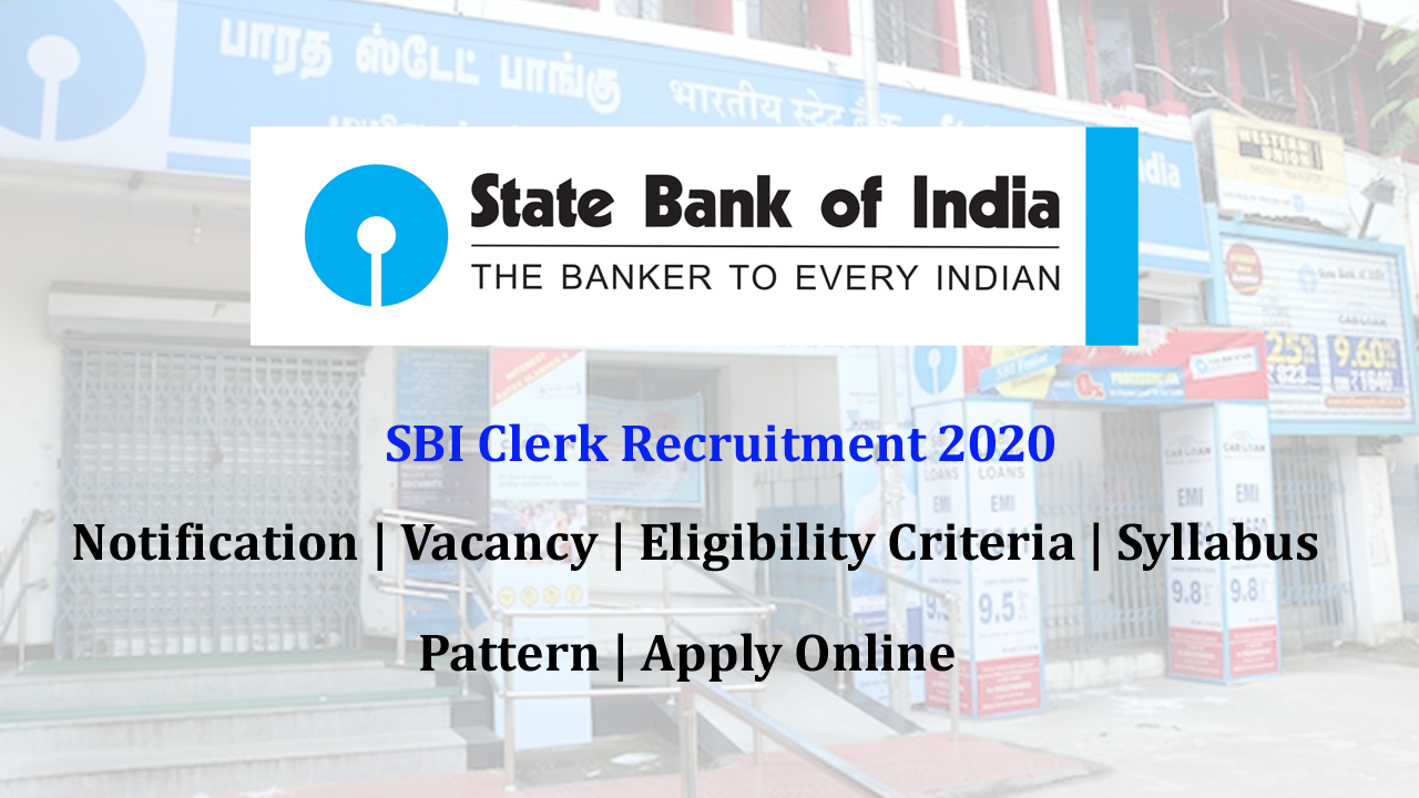 sbi recruitment 2014-15 clerk notification