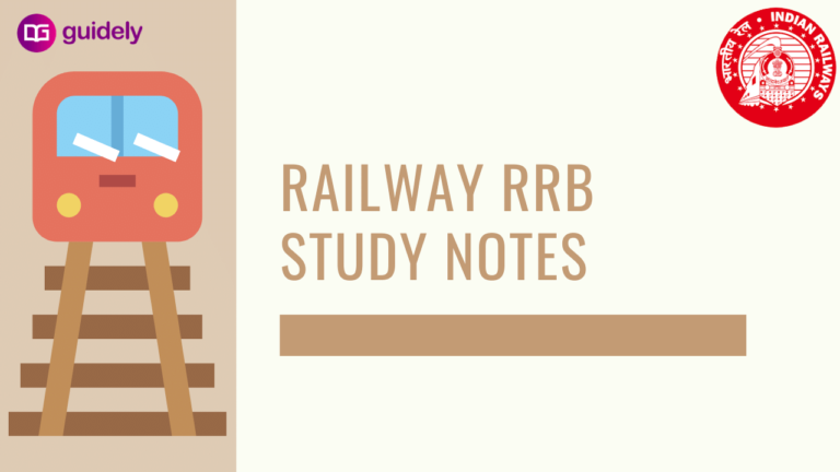 Railway RRB Study Notes: Section-wise Syllabus, Books, Strategy