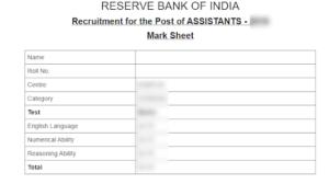 RBI-Scorecard