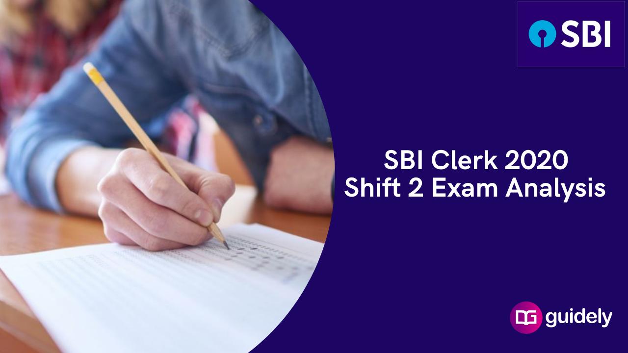 SBI Clerk Shift 2 Analysis