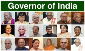 Governors of India 2020