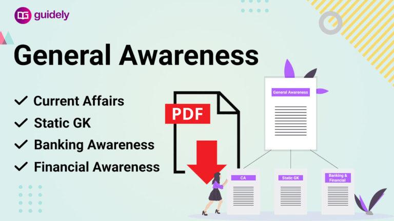 General Awareness PDF Download: Get the Best GA Study Materials PDF Here