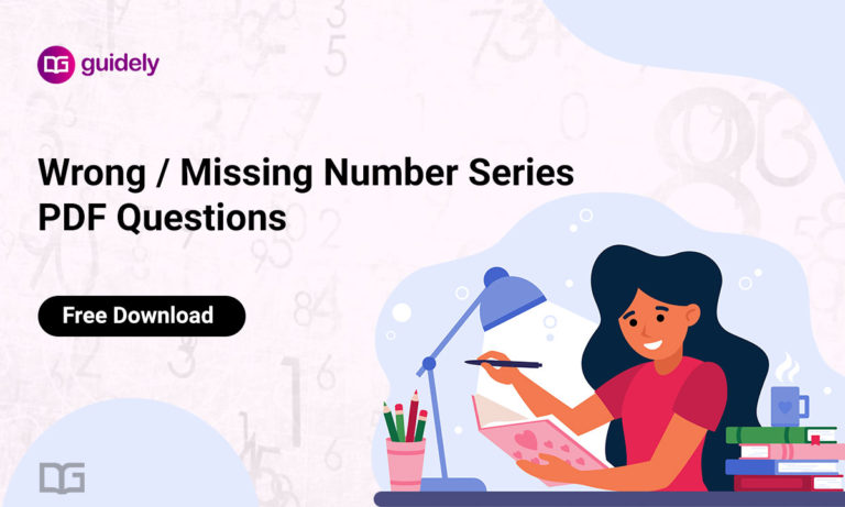 Wrong / Missing Number Series PDF Questions: Free Download Here