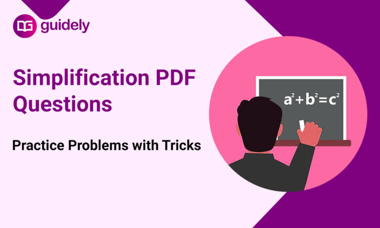 Simplification Questions PDF Free Download: Simplification & Approximation