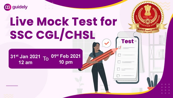 SSC CGL CHSL Live Mock test