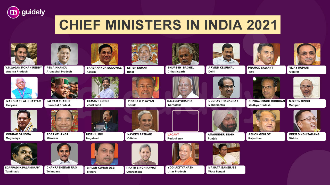 List of chief ministers of India pdf