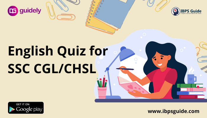 SSC English Practice Questions (Day-61)