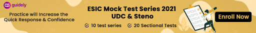 ESIC UDC Mock Test