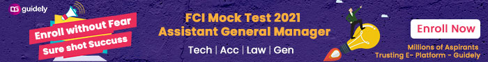 FCI Mock Test 2021