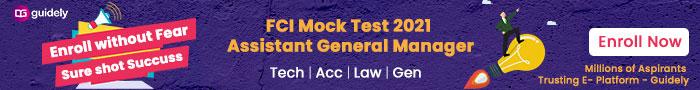 FCI Mock Test 2021