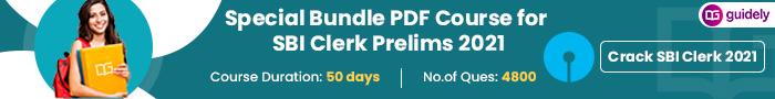 SBI Clerk pre Bundle pdf