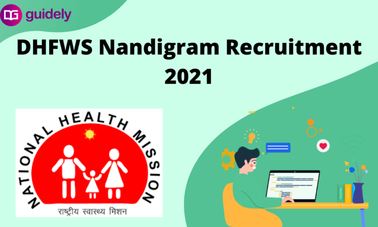 DHFWS Nandigram Recruitment 2021: Walk-in For MO, Specialist Posts