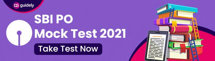 SBI PO Mock Test 2021